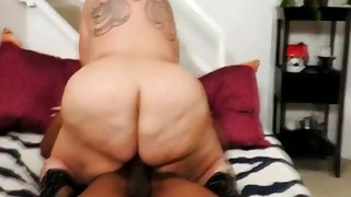 Couple;Vaginal Sex;Black-haired;Redhead;Piercings;Tattoos;Chubby;BBW