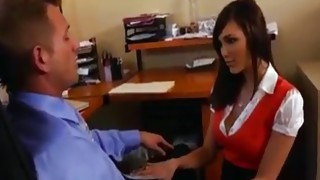 Couple;Oral Sex;Big Tits;Blowjob;Secretary;Big Ass