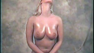 Couple;Masturbation;Blonde;Caucasian;Vaginal Masturbation;Piercings