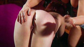 Lesbian;Masturbation;Oral Sex;Domination;Blonde;Redhead;Caucasian;Vaginal Masturbation;Toys;Licking Vagina;Latex;Spanking;Fetish;Boots;Femdom