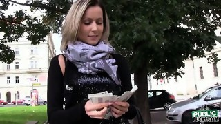 amateur,big tits,blowjob,european,flasher,money,pov point of view,public