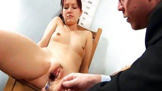 Couple;Masturbation;Domination;Redhead;Vaginal Masturbation;Toys;Stockings;Secretary;Fetish