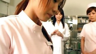 Lesbian;Masturbation;Brunette;Asian;Vaginal Masturbation;Hairy;Japanese;Nurse;Fetish