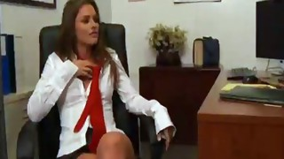 Lesbian;Vaginal Sex;Oral Sex;Blonde;Licking Vagina;Kissing;Office