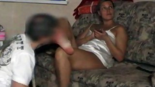 Couple;Oral Sex;Brunette;Caucasian;Licking Vagina;Amateur;Lingerie;Fetish;Femdom