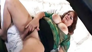 Couple;Anal Sex;Mature;Redhead;Chubby;Fat;Facial;BBW