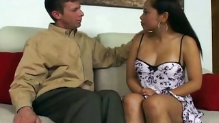 Couple;Masturbation;Brunette;Asian;Vaginal Masturbation;Shaved;Bathroom;Handjob;Cum Shot;Massage